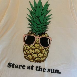 Wildfox Tops - NWOT wildfox pineapple tank top